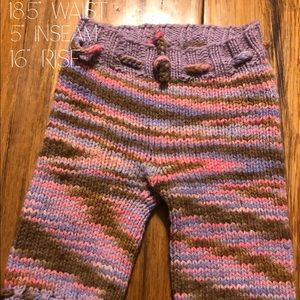 "Wool capris ""longies"""